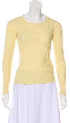 Max Mara Silk & Cashmere-Blend Knit Sweater