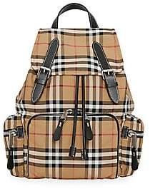 Burberry Women's Medium Vintage Check Rucksack