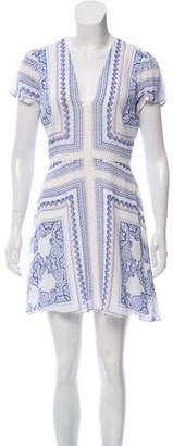 Lovers + Friends Printed Mini Dress