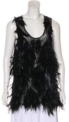 Jenni Kayne Sleeveless Feather Top