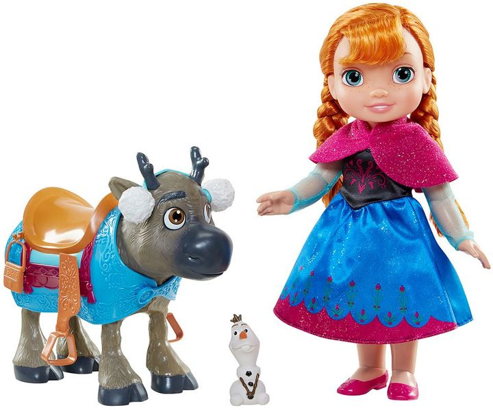 Disney Disney's Frozen Anna, Sven & Olaf 3-pc. Toddler Doll Set