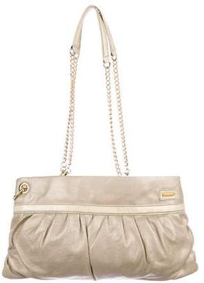 Tahari Metallic Shoulder Bag