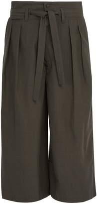 SASQUATCHfabrix. Hakama wool and silk-blend trousers