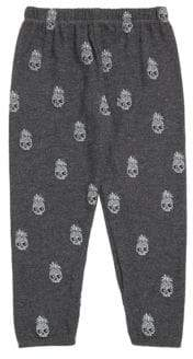 Lauren Moshi Little Boy's& Boy's Mini Pineapple Skull Sweatpants