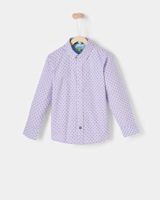 Ted Baker CHUMRE Printed cotton shirt