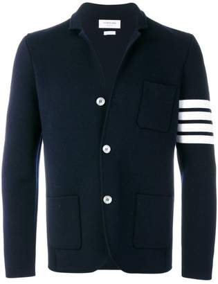 Thom Browne 4-Bar Stripe Fine Merino Wool Sport Coat