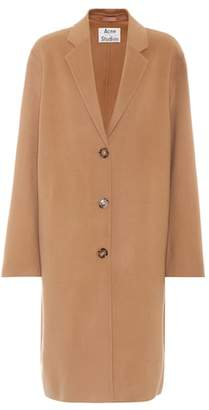 Acne Studios Avalon Doublé wool and cashmere coat