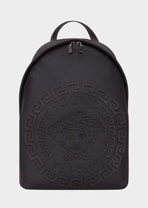Versace Embossed Medusa Backpack