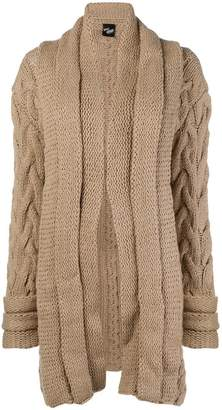 Michel Klein chunky knit cardi-coat