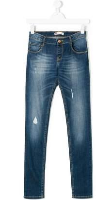 Levi's Kids ripped skinny jeans