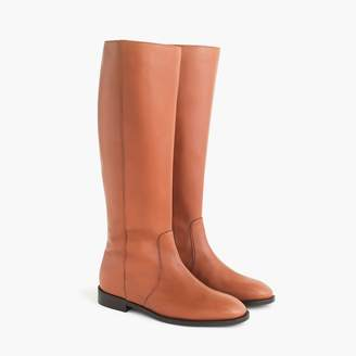 J.Crew Leather riding boot with extended calf