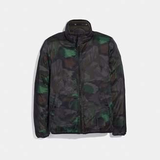 Coach Reversible Landscape Print Jacket