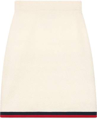 Gucci Wool skirt with Web