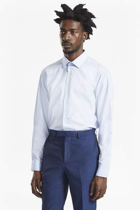 French Connection Dobby Stripe Slim Fit Shirt