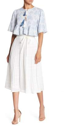 Endless Rose Pleated Maxi Skirt