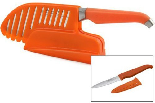 Rachael Ray from Furi 8-in. Essentials Sharp Store with Cook's Rocker Knife