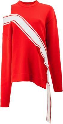 Monse contrast stripe panel jumper