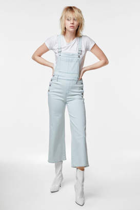 J Brand Cropped Slim Overall In Powdered