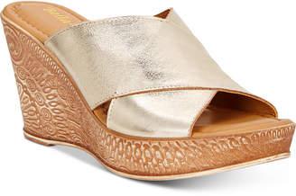 Bella Vita Edi-Italy Wedge Sandals Women's Shoes