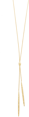 Gorjana Nora Long Lariat Necklace $80 thestylecure.com