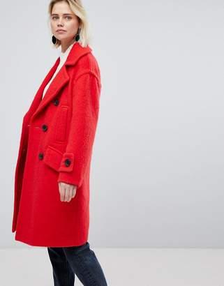 Warehouse Oversized Tailored Coat