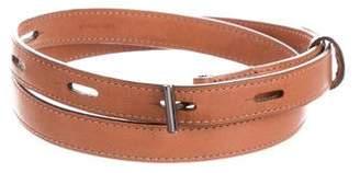 Reed Krakoff Leather Skinny Belt