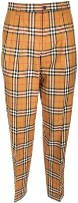 Burberry Classic Check Print Tailored Trousers