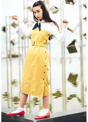aquagirl (アクアガール) - AG by aquagirl 【2WAY】クリアツイルベアトップワンピース