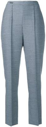 Fendi cropped high-waisted trousers