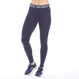 New Balance Womens Accelerate Running Tight Leggings Pigment Navy