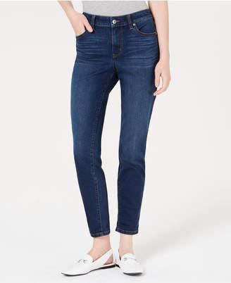 Maison Jules Slim-Leg Boyfriend Jeans