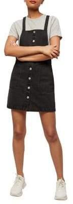 Miss Selfridge Cotton Pinafore Dress