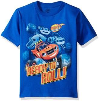 Nickelodeon Boys' Little Boys' Ready to Roll Short Sleeve T-Shirt