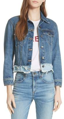Veronica Beard Marianne Denim Jacket