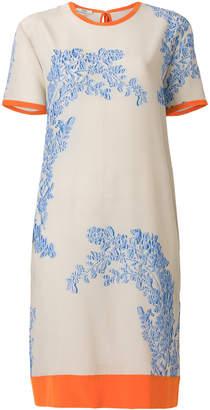 Fendi floral design dress