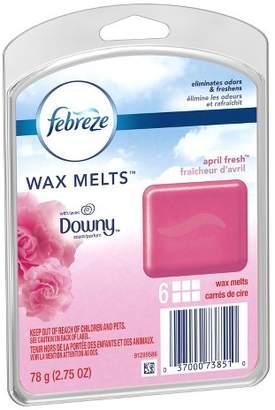 Febreze With Downy April Fresh Wax Melts Air Freshener - 2.75oz