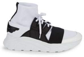 John Richmond Stretch Knit Sneakers