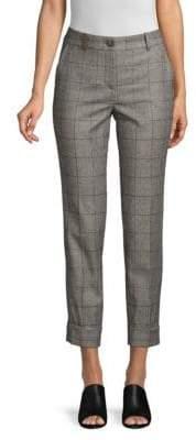 Peserico Check Wool Pants