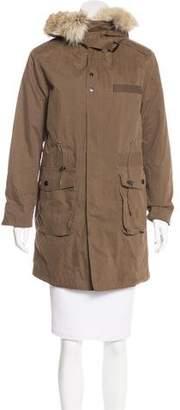 Rebecca Minkoff Fur-Trimmed Parka Jacket