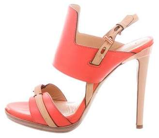 Reed Krakoff Bicolor Leather Sandals