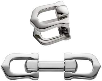 Cartier Elongated C Shape Décor Cufflinks
