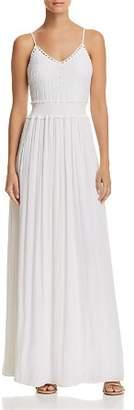Ramy Brook Stella Crochet Bodice Dress