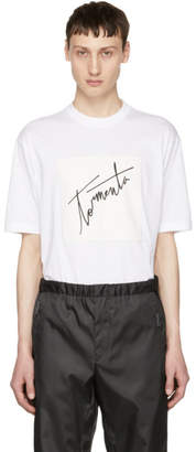 Prada SSENSE Exclusive White Arca Edition Tormenta T-Shirt