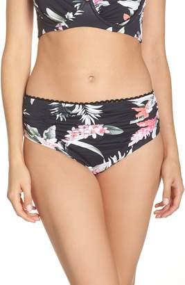 Tommy Bahama Ginger Flowers Shirred Bikini Bottoms
