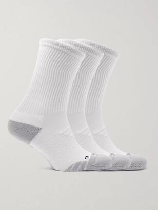 Nike Training - Three-Pack Everyday Max Cushion Crew Dri-FIT Socks - Men - White