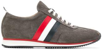 Thom Browne Striped Leather Running Shoe