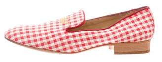 Church's Embroidered Round-Toe Loafers