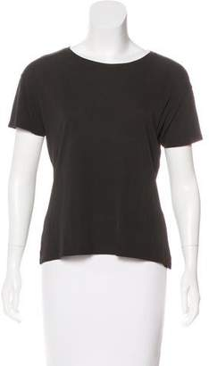 Salvatore Ferragamo Short Sleeve Crew Neck T-Shirt