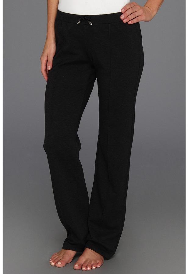 Lacoste Classic Leg Sweatpant (Black Chine/Black) - Apparel