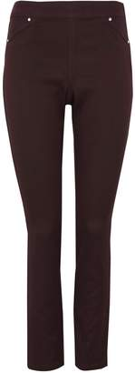 Wallis Brown Side Zip Jegging
